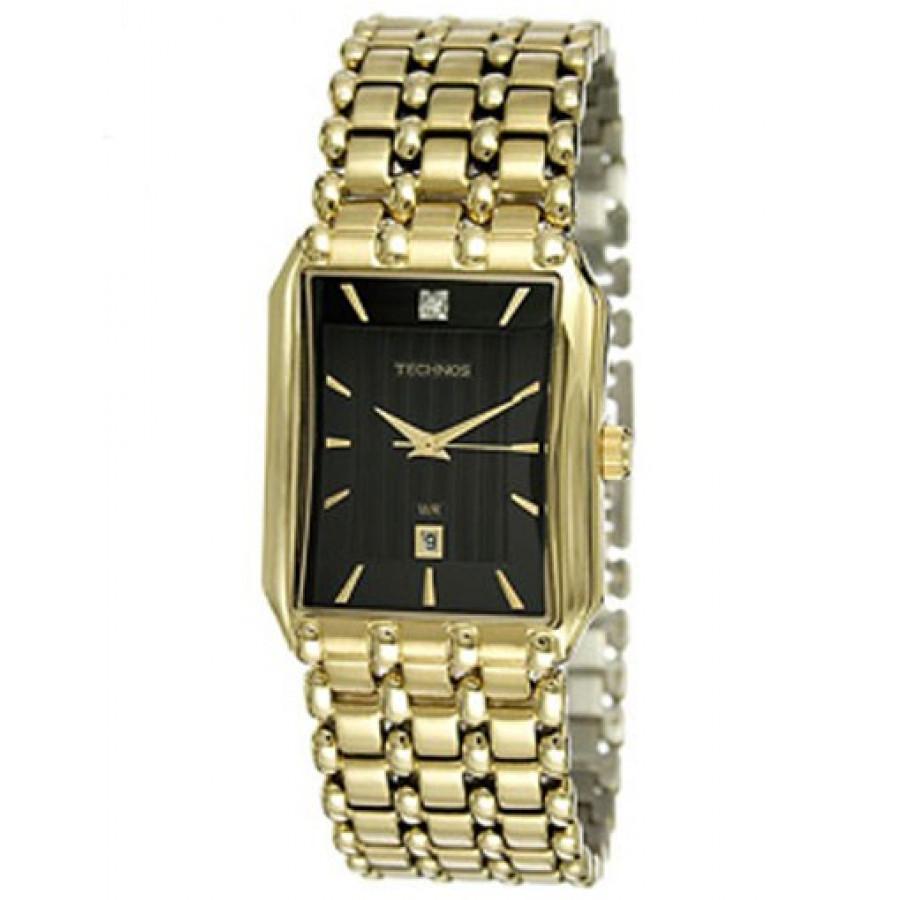 3c3e19fd483 Relógio Technos Elegance Dourado 1N12AR 4P