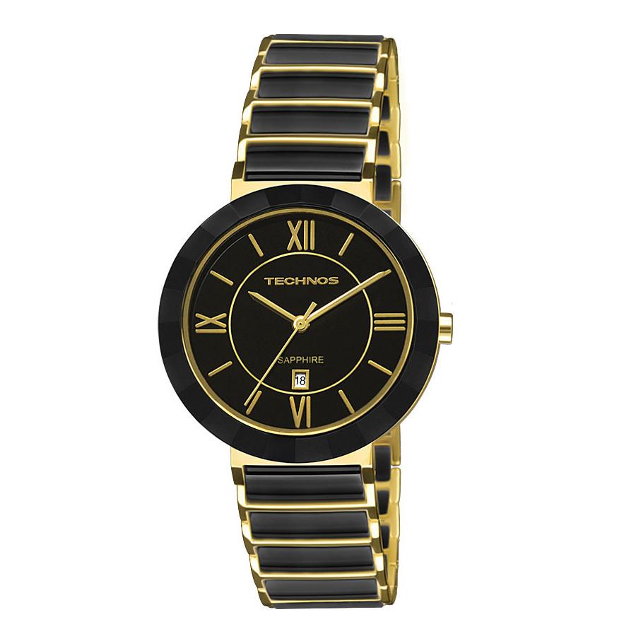 Relógio Technos Elegance Feminino Cerâmica 2015CE 4P 64469dccfa
