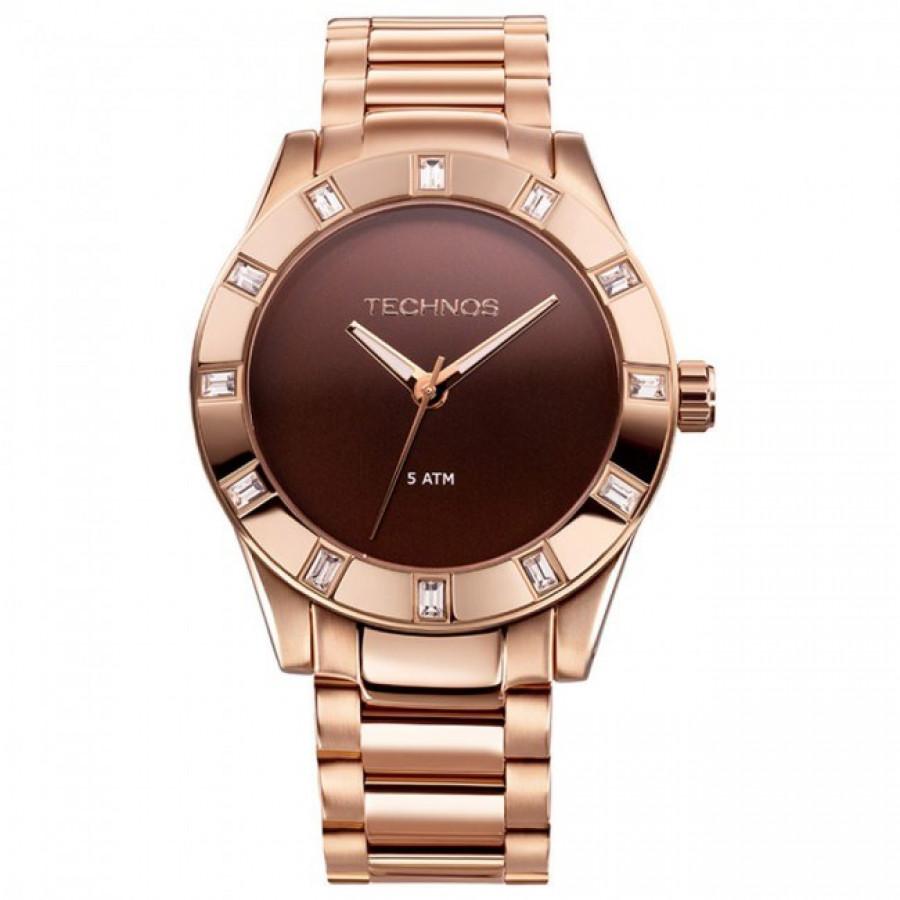 4bbce49d1a450 Relógio Technos Feminino Elegance Swarovski 2035FFI 4M