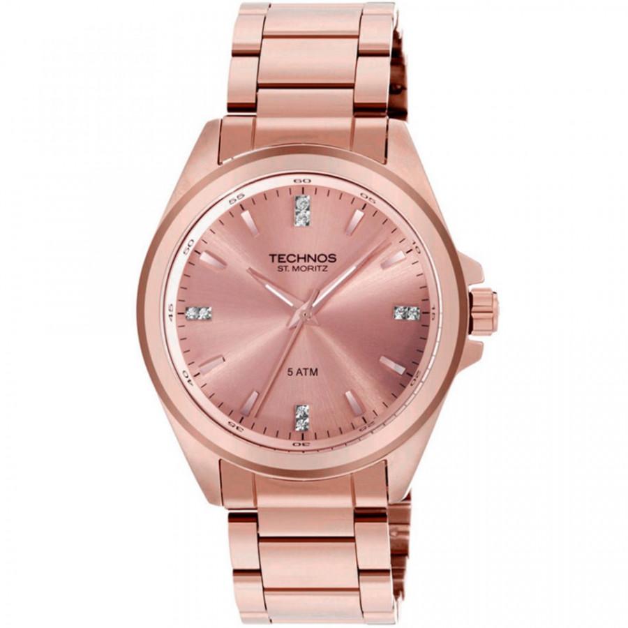 Relógio Technos Feminino Elegance St. Moritz 2035GGP 4T 2a7fb94ea4