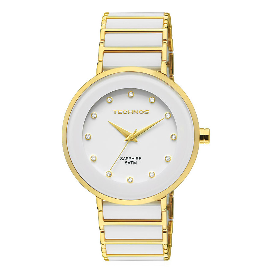 1a5ff8bc575 Relógio Technos Feminino Elegance Ceramic 2035LMM 4B