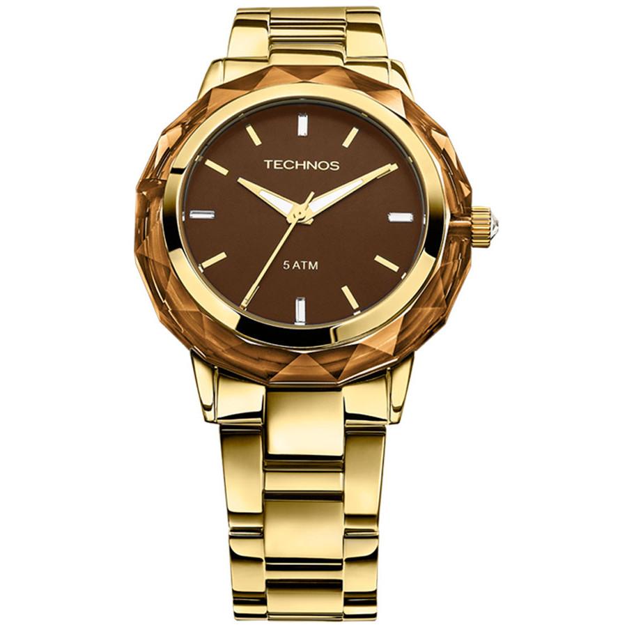 c15a1b5ed97f7 Relógio Technos Feminino Elegance Crystal 2035MCM 4M