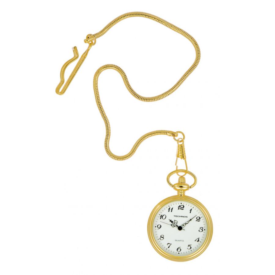 922ce97af2e Relógio de Bolso Technos Masculino 2035UE 2B