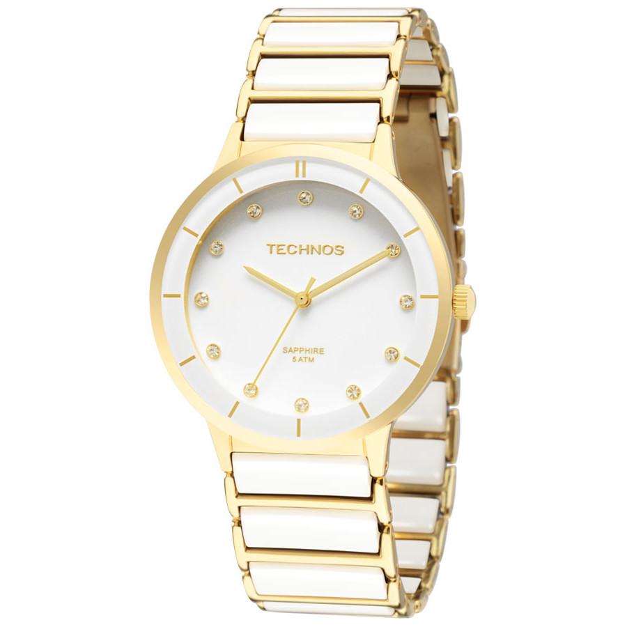 Relógio Technos Feminino Elegance Ceramic 2036LMN 4B 78953dbf85