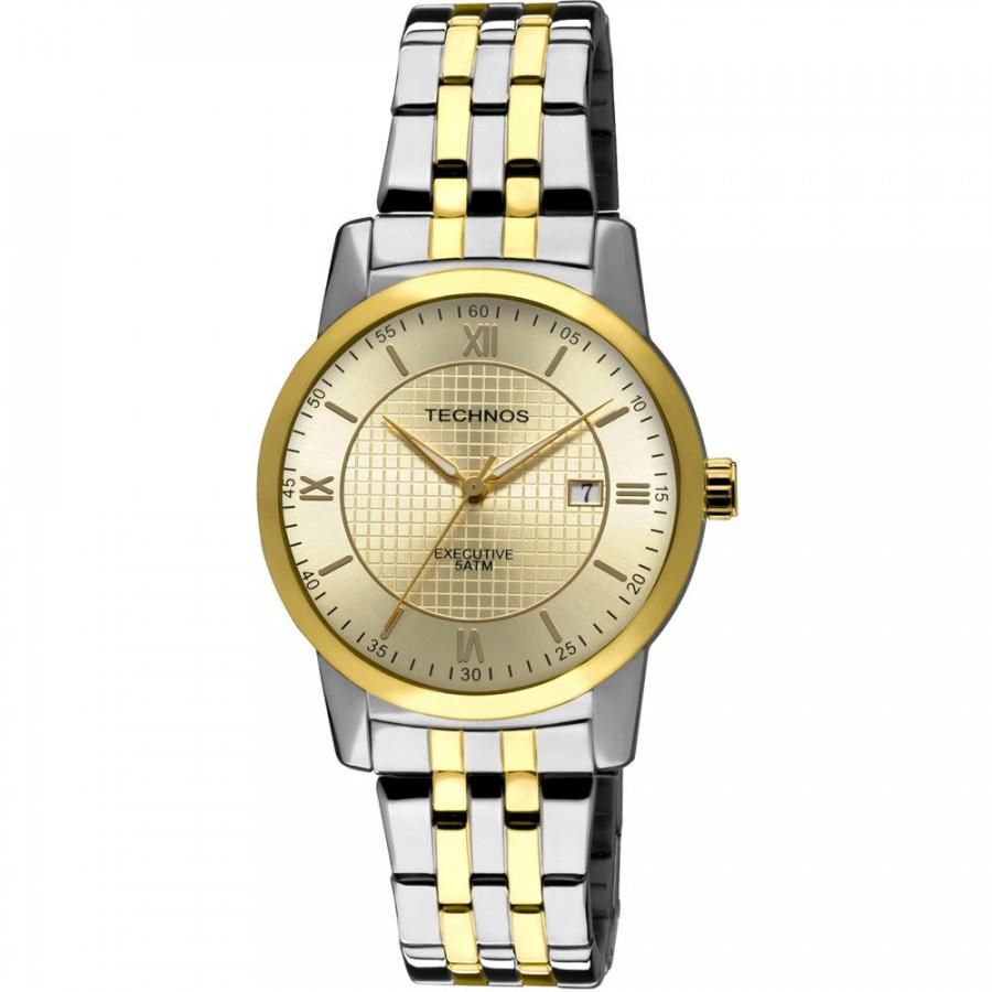 6dc37b413a7 Relógio Technos Masculino Classic Executive 2115RR 5K