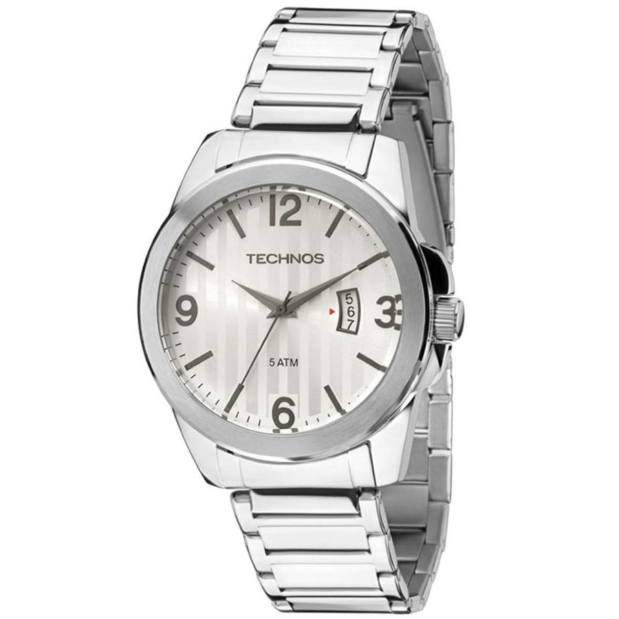 Relógio Technos Masculino Classic Steel 2115KSA 1K 3ca61f992f