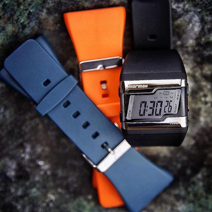 Kit Relógio Mormaii Digital + Duas Pulseiras FZU 8L 52ebb58009