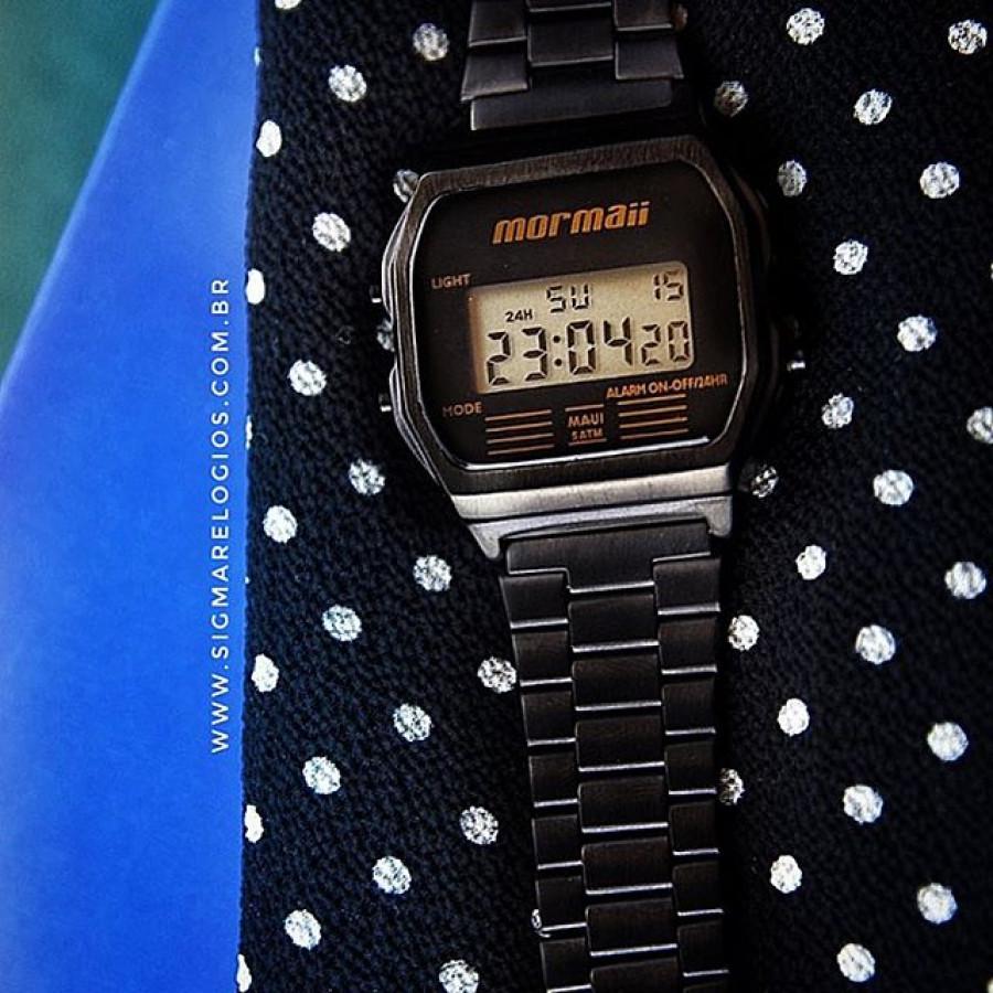 01326ad5e84 Relógio Mormaii Vintage Digital Preto MOJH02AJ 4P