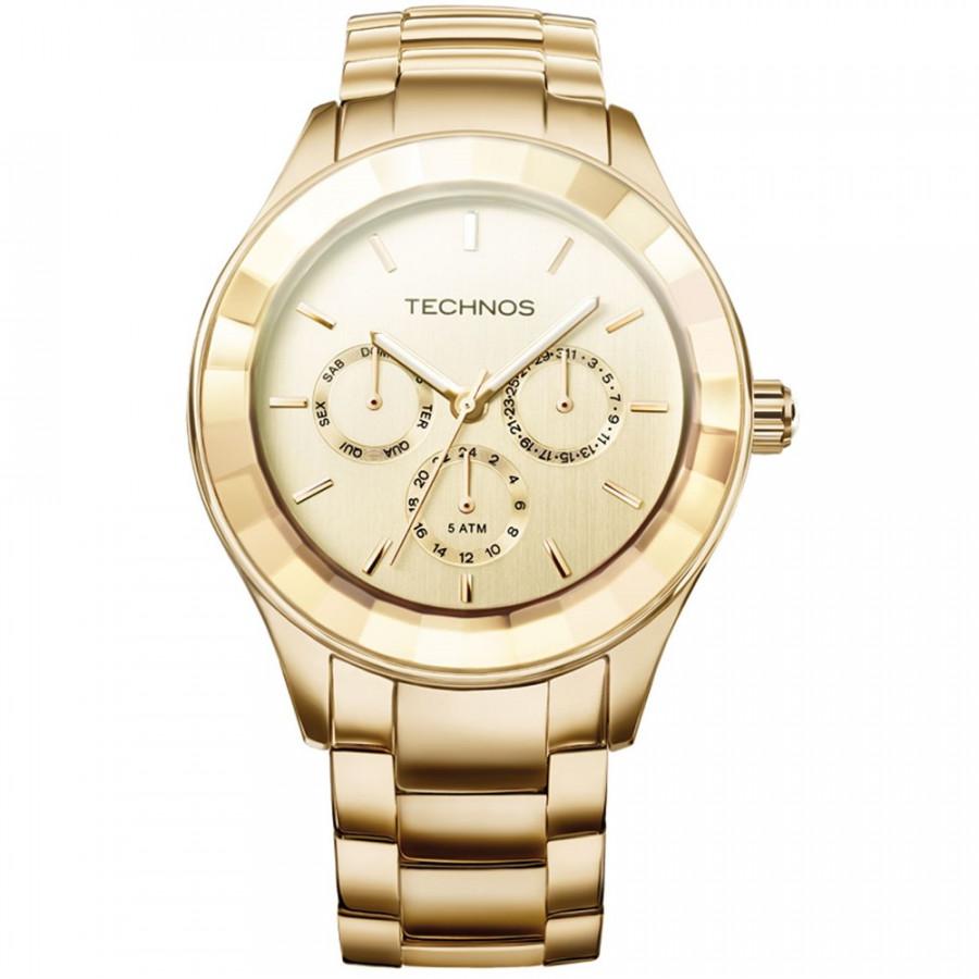 a3092218e4f5e Relógio Technos Feminino Elegance Crystal Swarovski 6P29AEO 4D