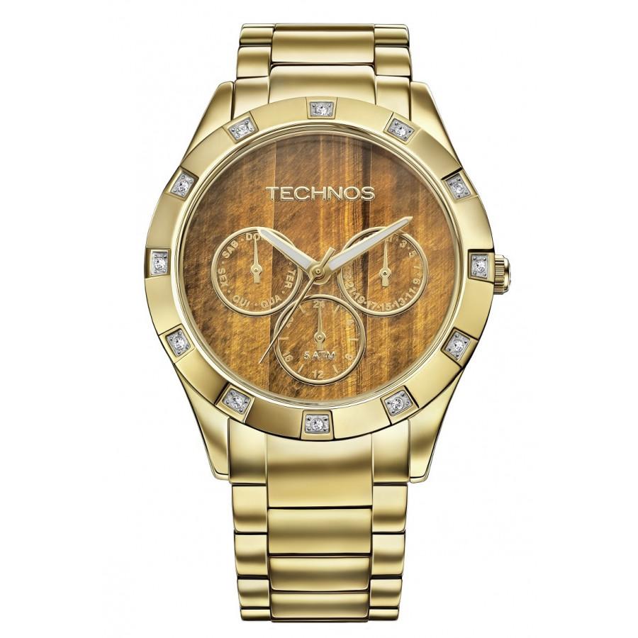 b359a324482 Relógio Technos Elegance Feminino Stone Collection 6P79AN 4M