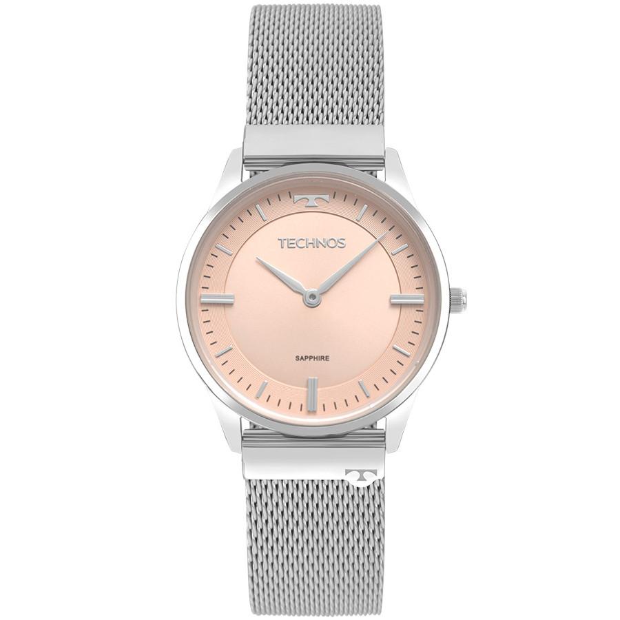 947fcaafc2cde Relógio Technos Feminino Classic Slim 9T22AP 1T