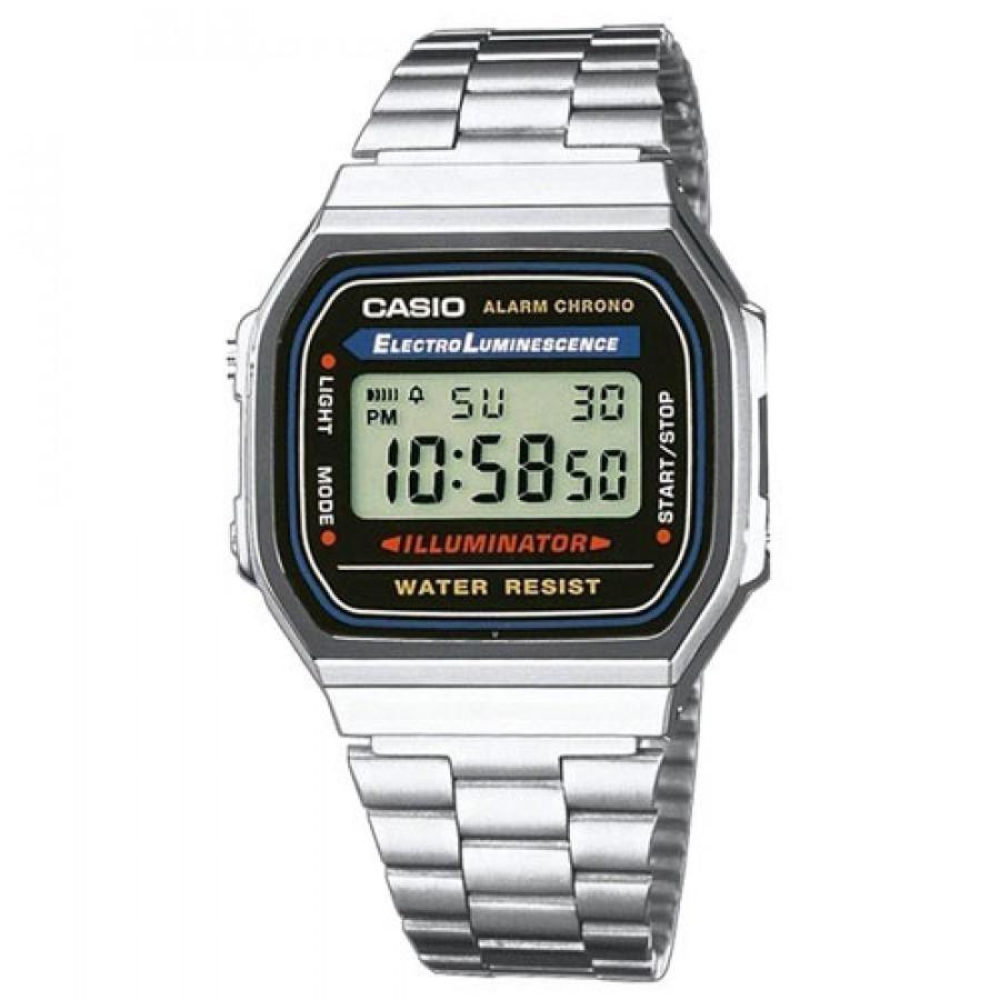 89b7b3b8fc7 Relógio Casio Digital Vintage A168WA1WDF