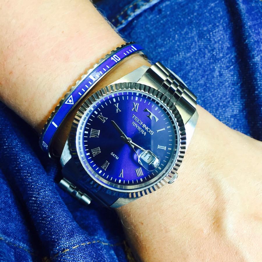 Relógio Technos Feminino Prateado Riviera 2115KQP 1A fb0dbf18e1
