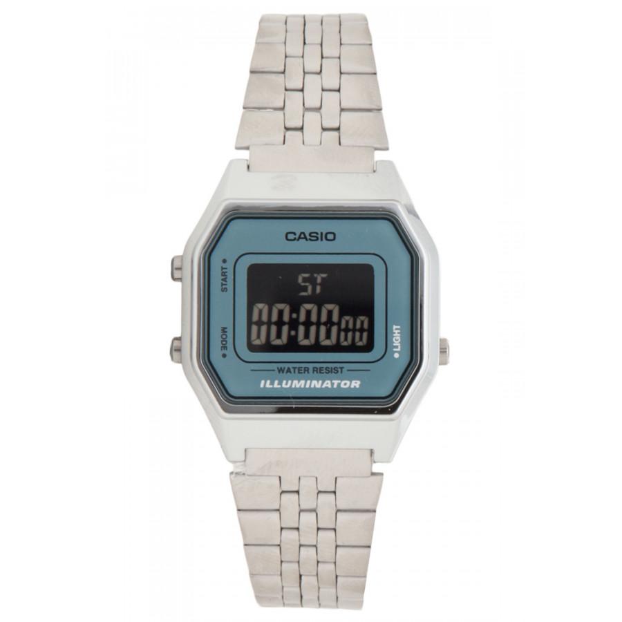 d24b04a1f41 Relógio Casio Feminino Vintage Prateado LA680WA2BDF