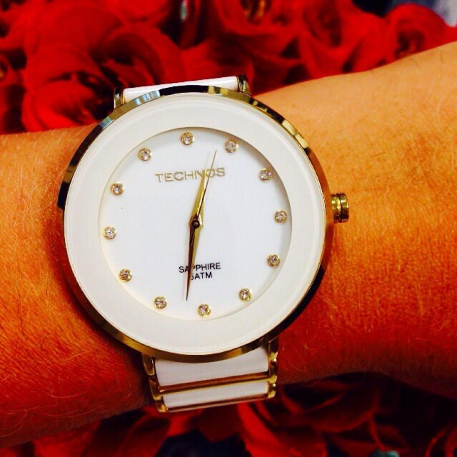 Relógio Technos Feminino Elegance Ceramic 2035LMM 4B 6d0b3b5ae6