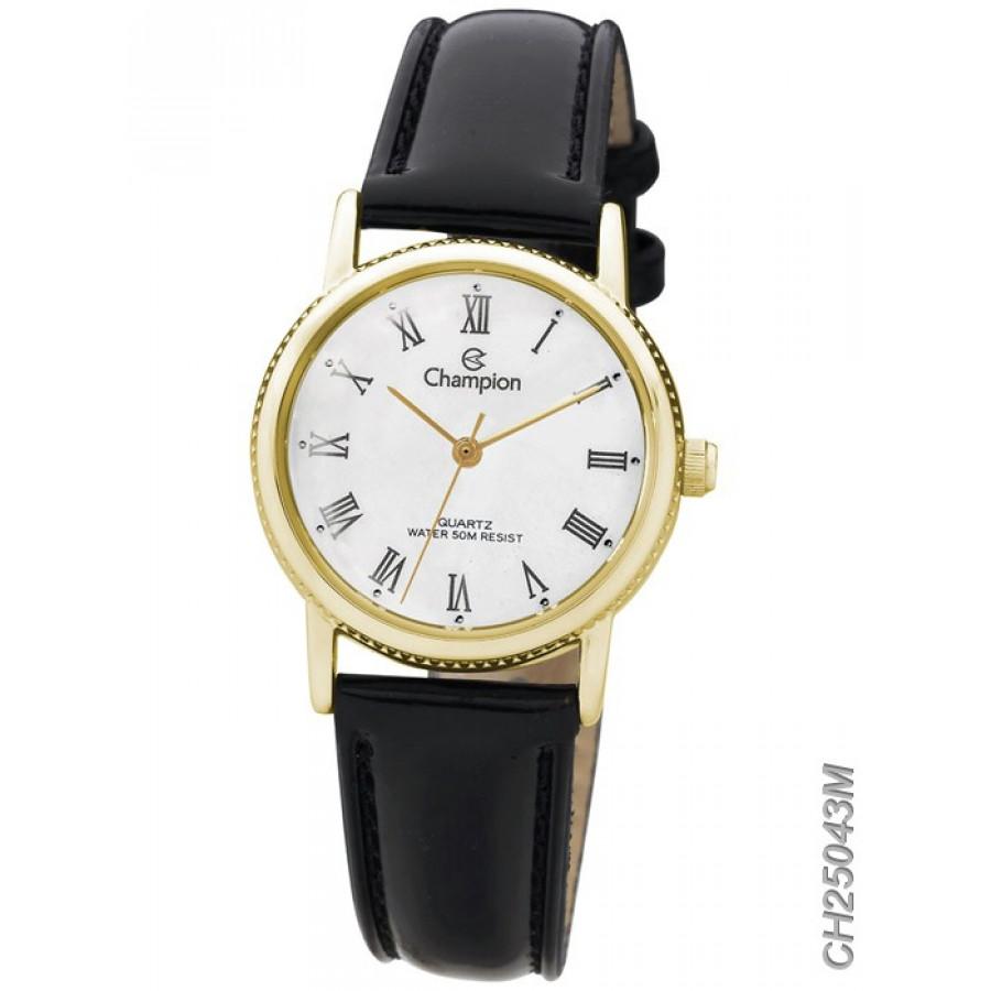 887af733022 Relógio Champion Feminino Pulseira de Couro CH25043M - Feminino - Gêneros