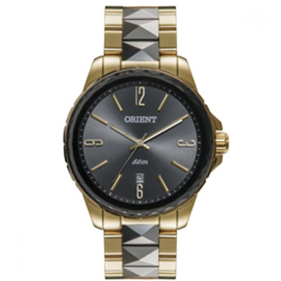 32fa0373ae8 Relógio Orient Feminino Dourado Analógico FTSS1082G