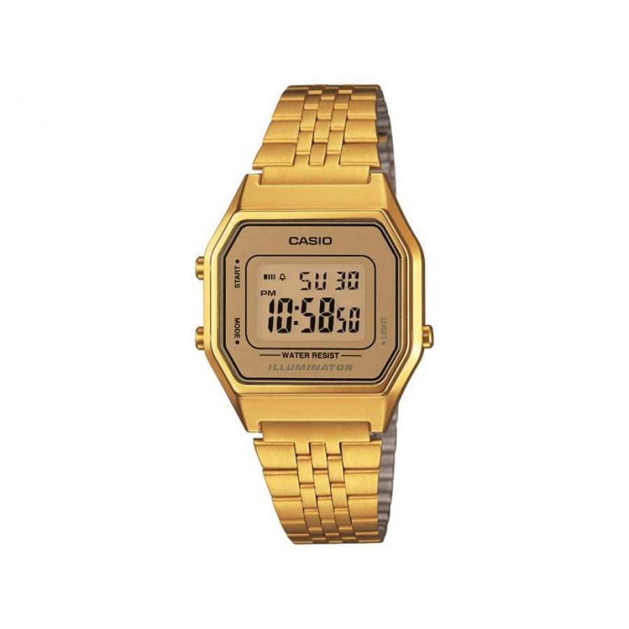 ff645e5f2ab Relógio Casio Vintage Dourado LA680WGA9D