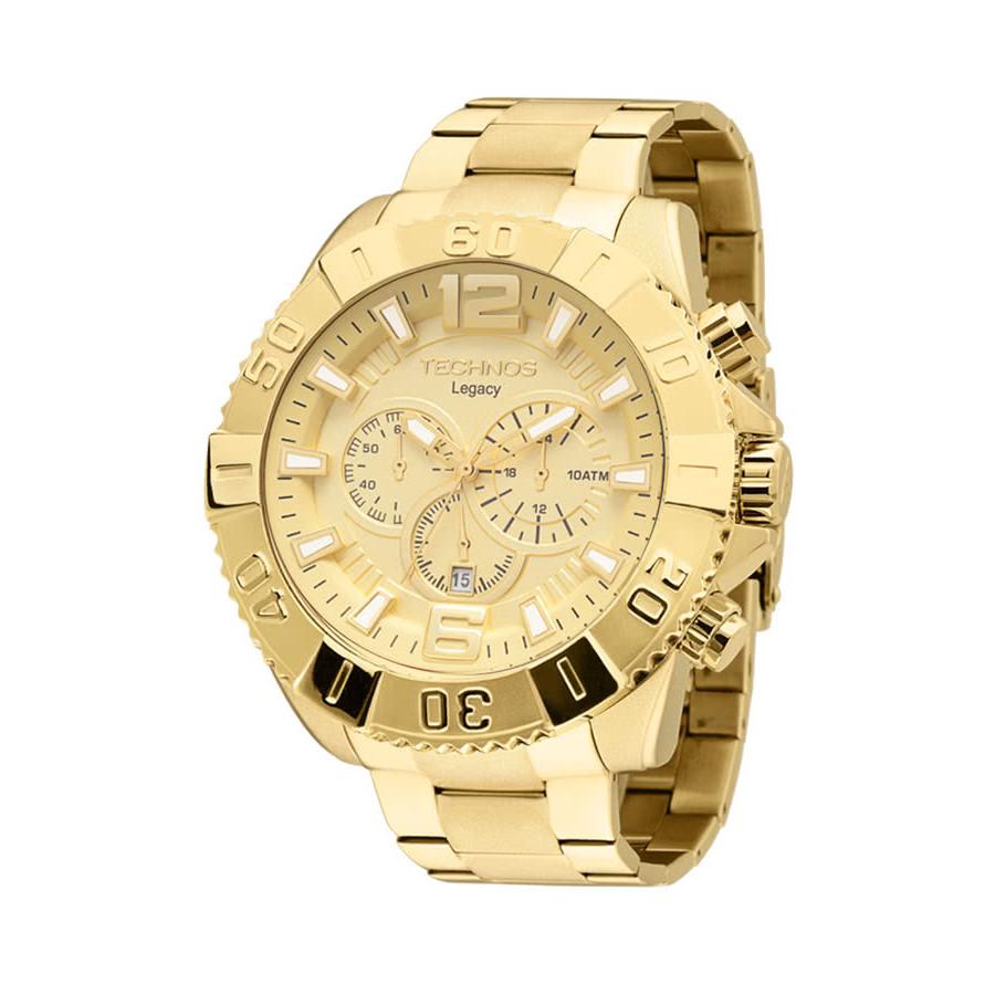 977db62f55b27 Relógio Technos Legacy Masculino Dourado OS20IB 4X