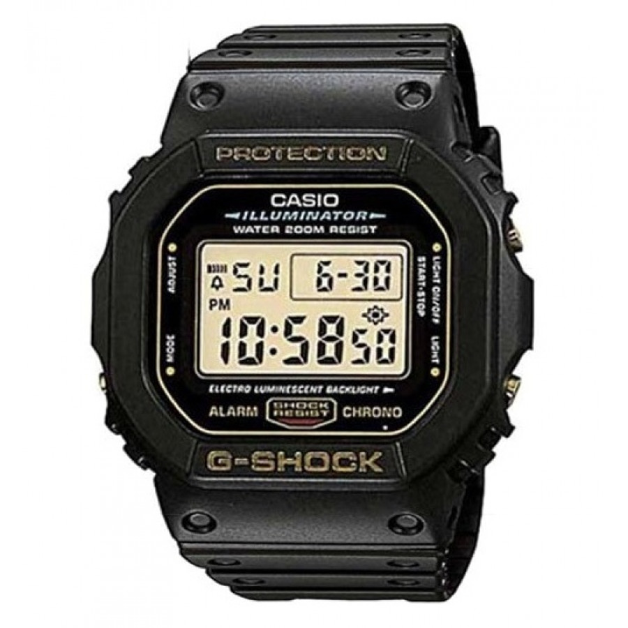 Relógio Casio Preto Masculino G-Shock Digital DW5600EG9VQ e5ace2da64