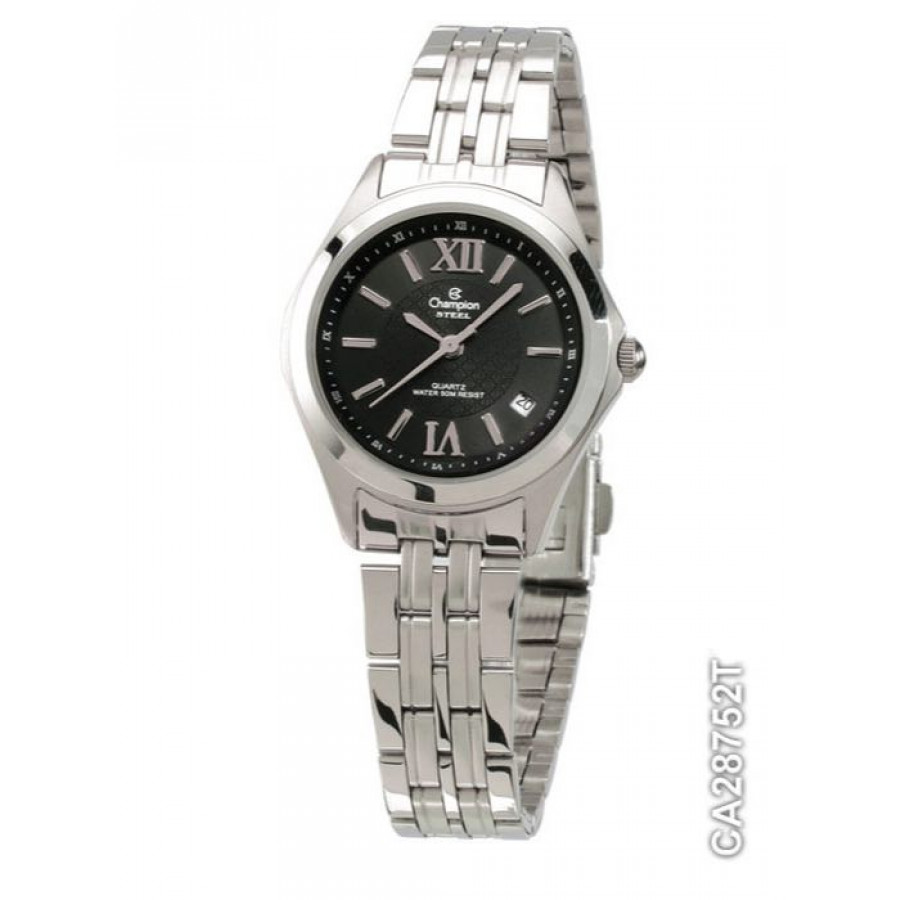 60c4194a7cd Relógio Champion Prateado Feminino Steel Analógico CA28752T