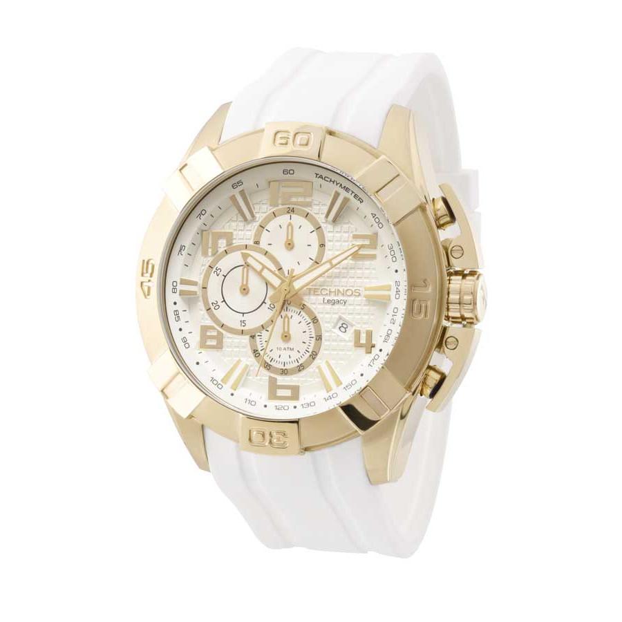 24314809ecf Relógio Technos Masculino Dourado Legacy JS15BE 8K
