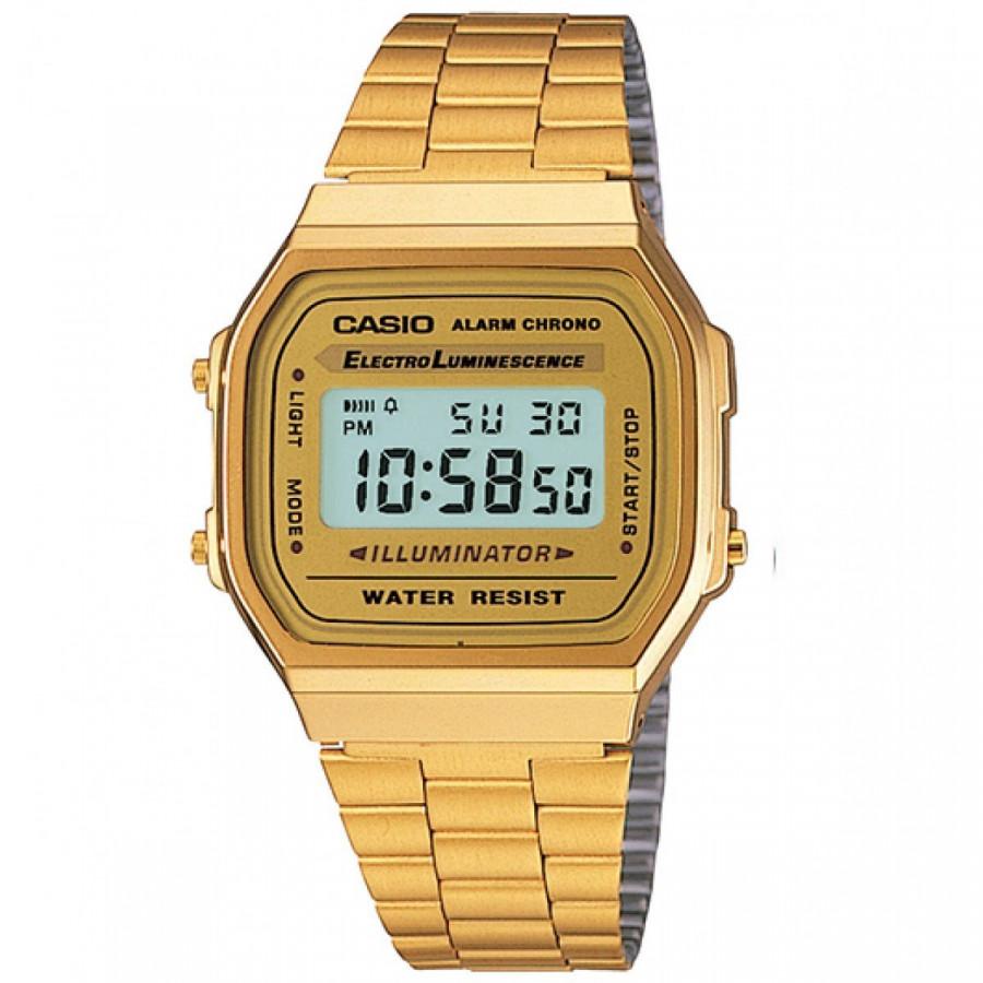 Relógio Casio Digital Feminino Vintage Dourado A168WG9WDFU - Vintage -  Estilos e04b947b64
