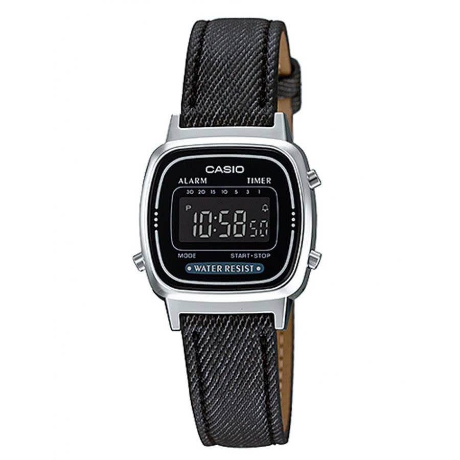 a703dad0cbf Relógio Casio Feminino Prateado Digital Vintage LA670WL1BDF