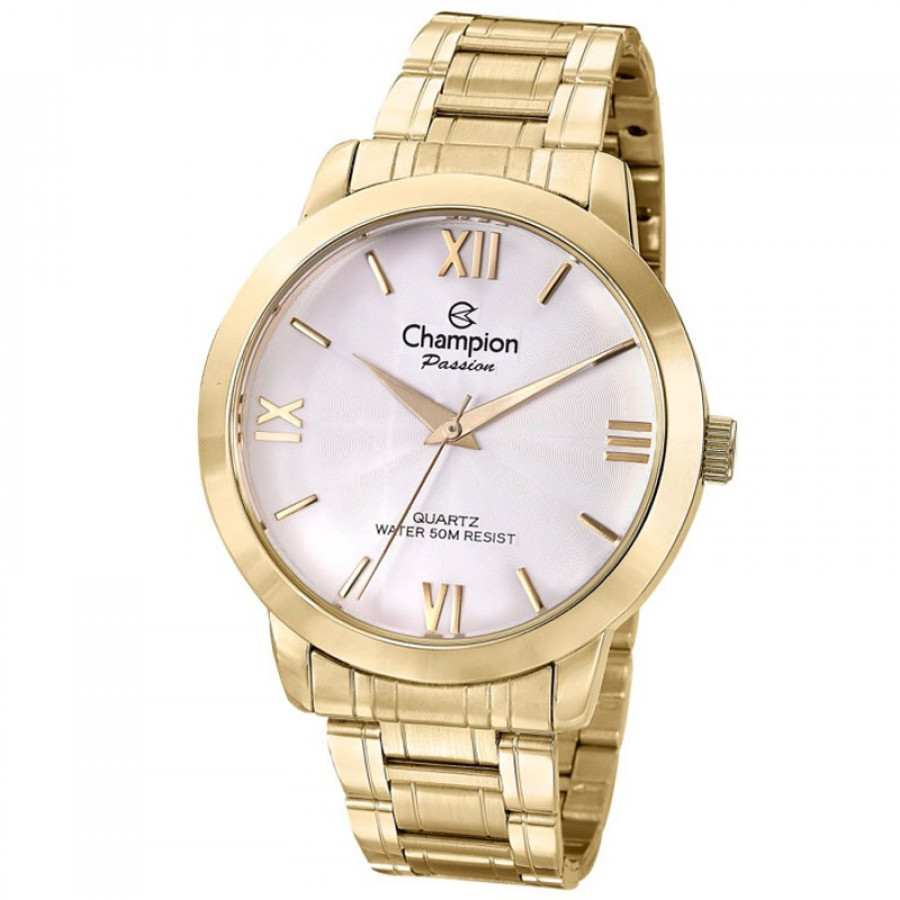 Relógio Champion Dourado Passion Feminino CN28704H