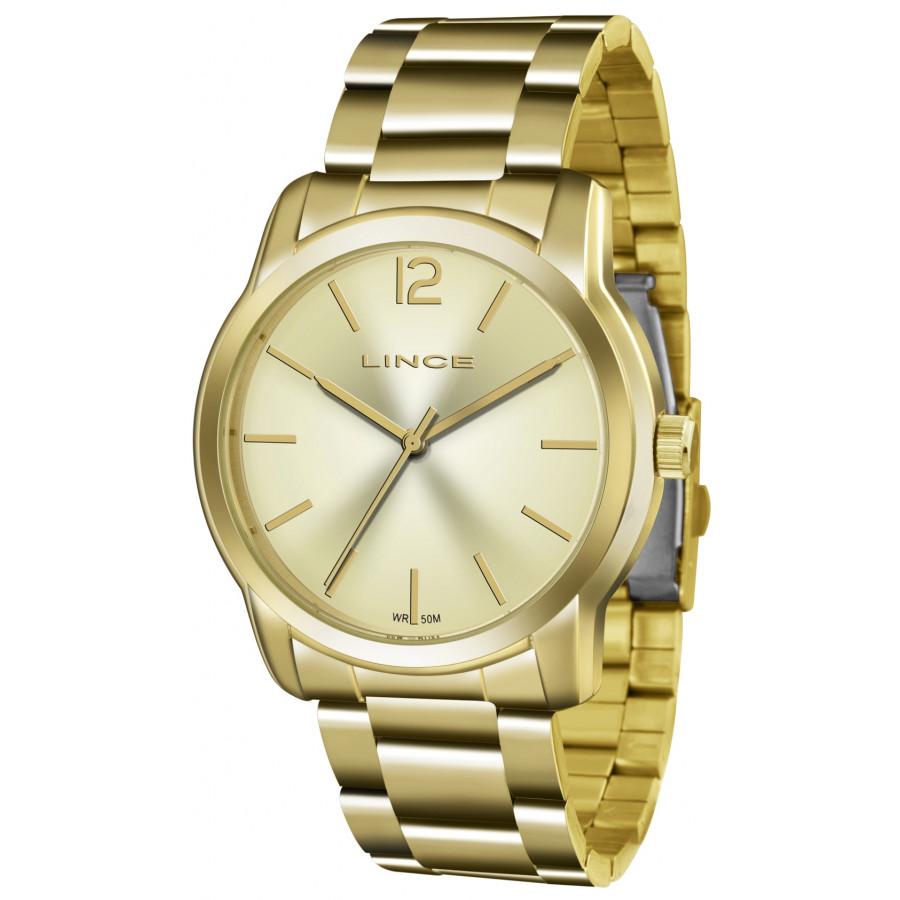 b375dac5998 Relógio Lince Dourado Feminino LRG4447LC2KX