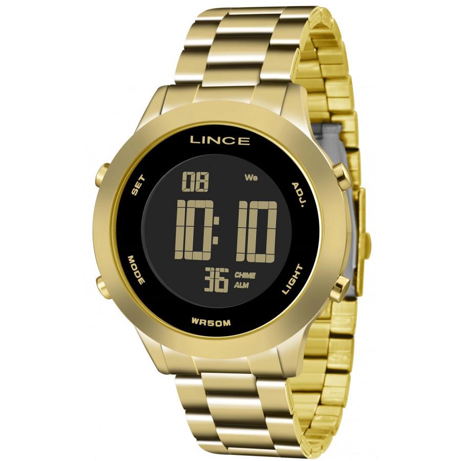 8cefeaed5e5 Relógio Lince Dourado Feminino SDPH038LPXKX
