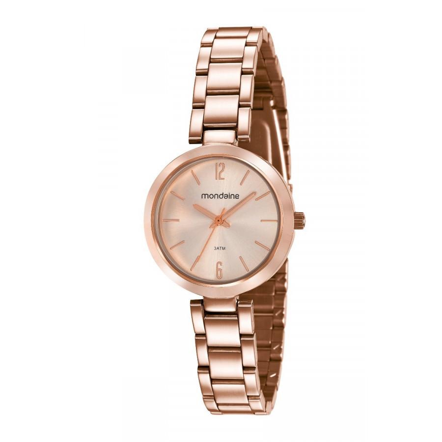 4ec5f2f7450 Relógio Mondaine Feminino Rosé 53611LPMVRE2