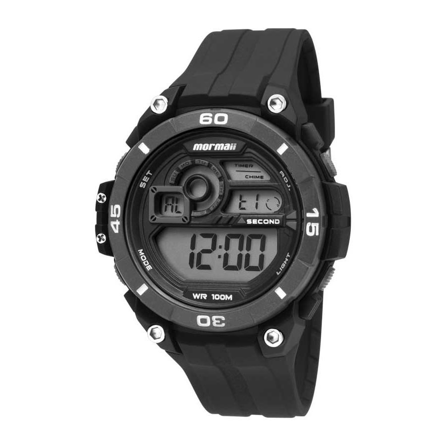 Relógio Mormaii Preto Masculino Digital MO2019 8P fe4868c4c2