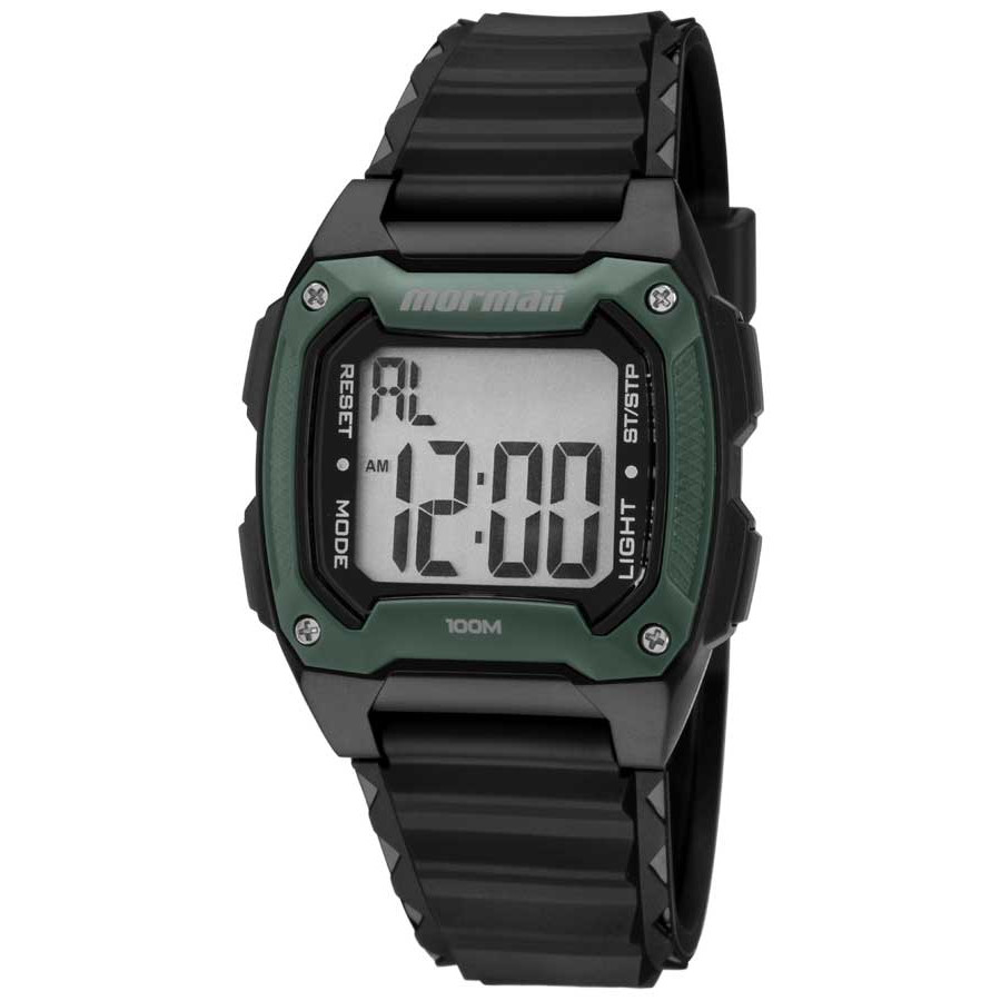 c78b9f636412a Relógio Mormaii Preto Masculino Digital MOY1516 8V