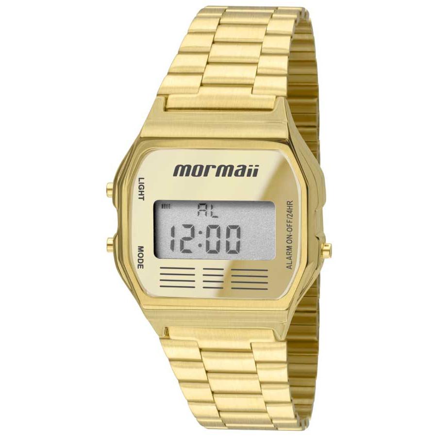6536934b2c5 Relógio Mormaii Vintage Dourado Feminino MOJH02AB 4D