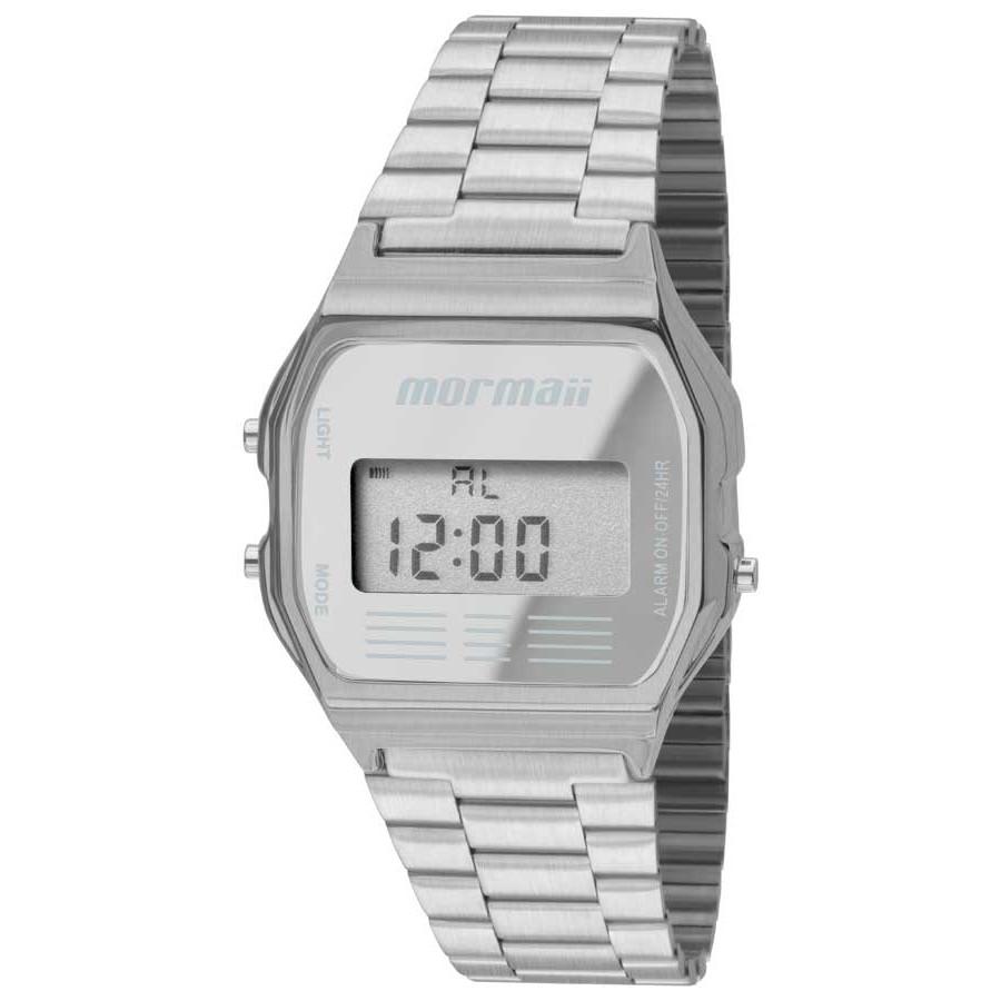 39f1babdb1c Relógio Mormaii Feminino Vintage Prateado MOJH02AA 3C