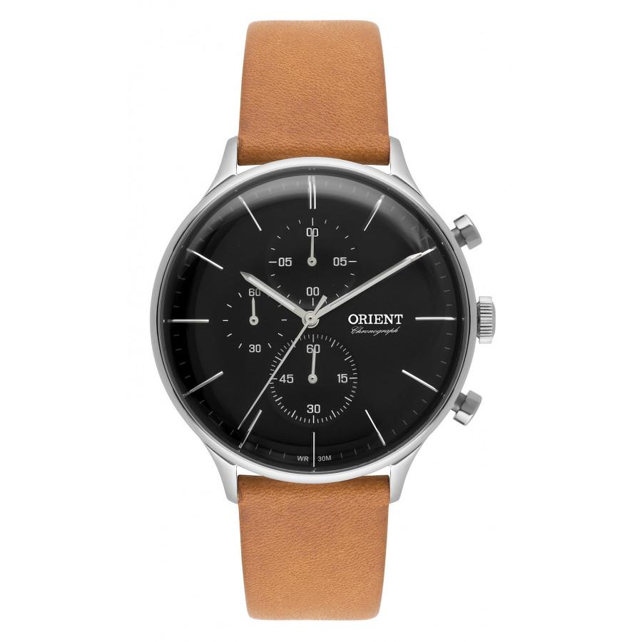 45612c94ed913 Relógio Orient Masculino com Pulseira de Couro MBSCC049P1MX