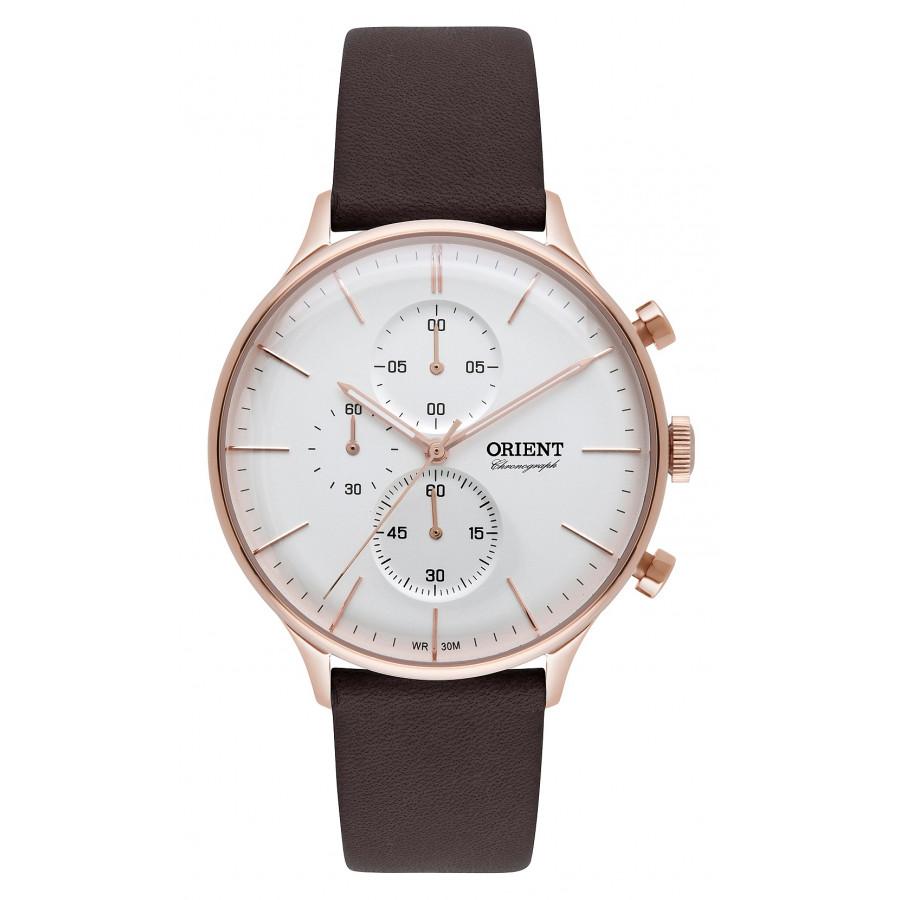 208f3963c4a Relógio Orient Masculino com Pulseira de Couro MRSCC014S1NX