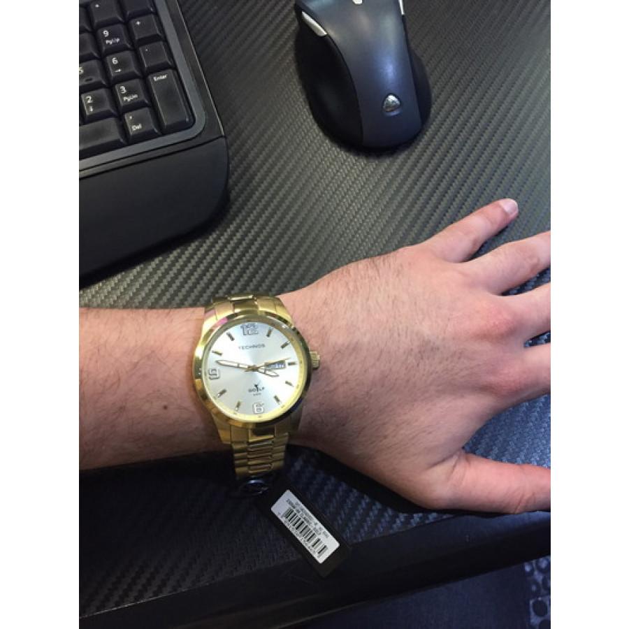 5dd1f83af28db Relógio Masculino Golf Technos Classic 2305AF 4X - Analógico Simples Com  Calendário - Tipos de Mecanismo