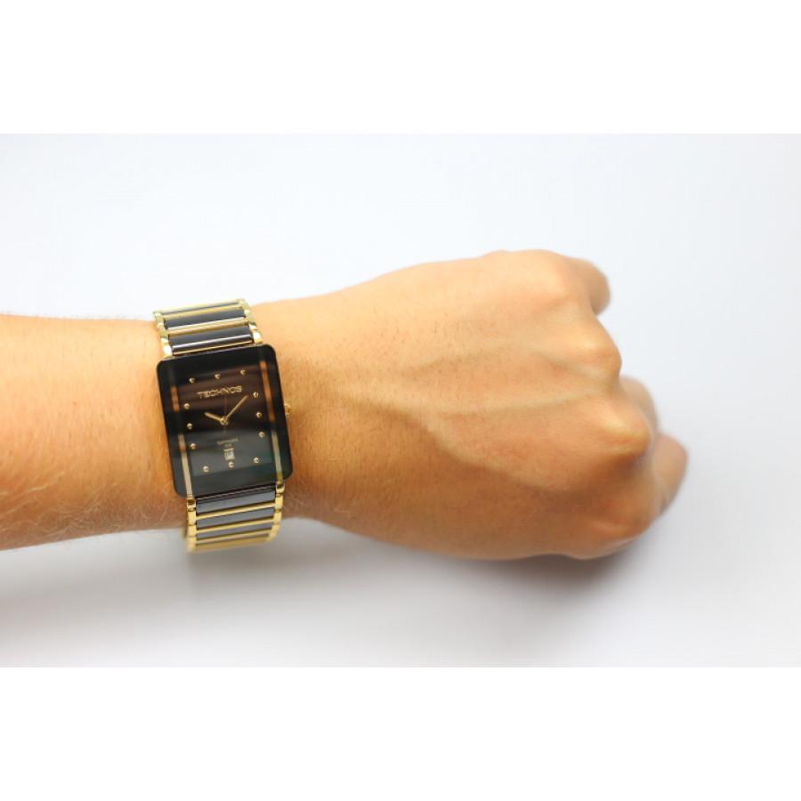 d4d2c6baaf580 Relógio Technos Feminino Elegance Ceramic GN10AAPAI 4P