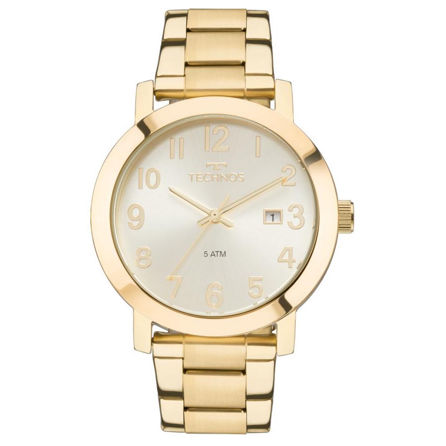 7b6ed879ca0 Relógio Technos Dourado Feminino Elegance Dress 2115MND 4X