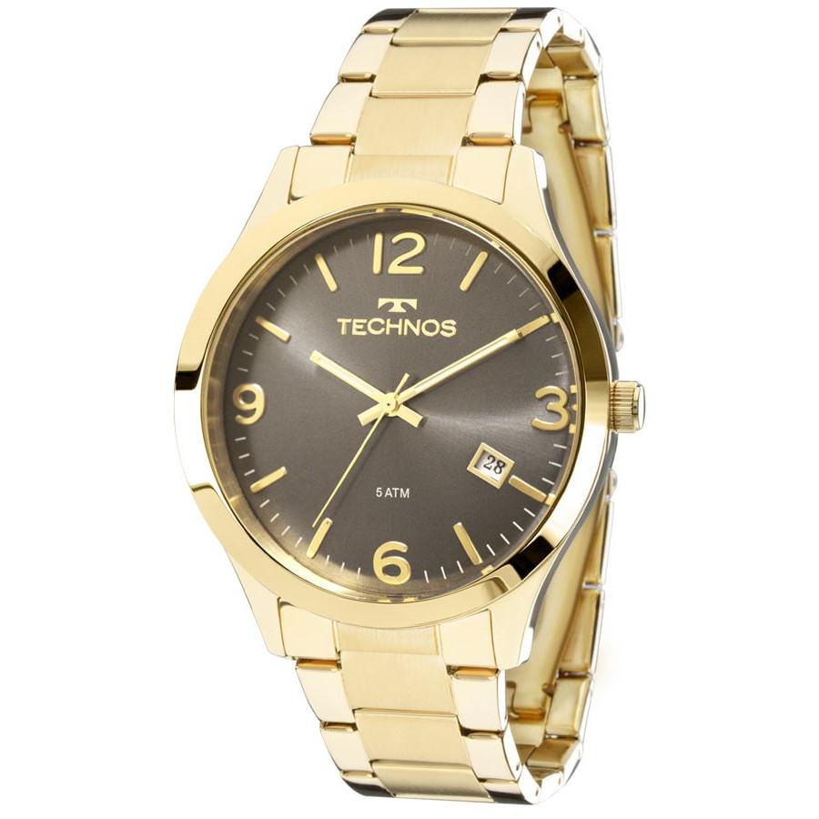 7ff860d4c79 Relógio Technos Dourado Feminino Elegance Dress 2315ACD 4C
