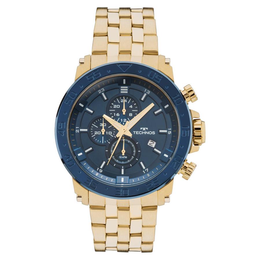745d884a262 Relógio Technos Dourado Masculino Classic Legacy JS15ER 4A