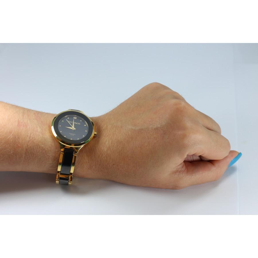 3336330d4cc5b Relógio Technos Elegance Dourado Cerâmica 2035LYW 4P