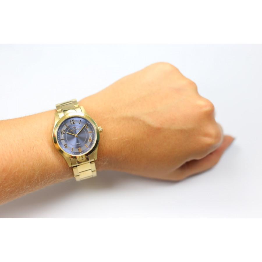 c564cd4ee125e Relógio Technos Dourado Feminino Elegance 2035MFT 4A