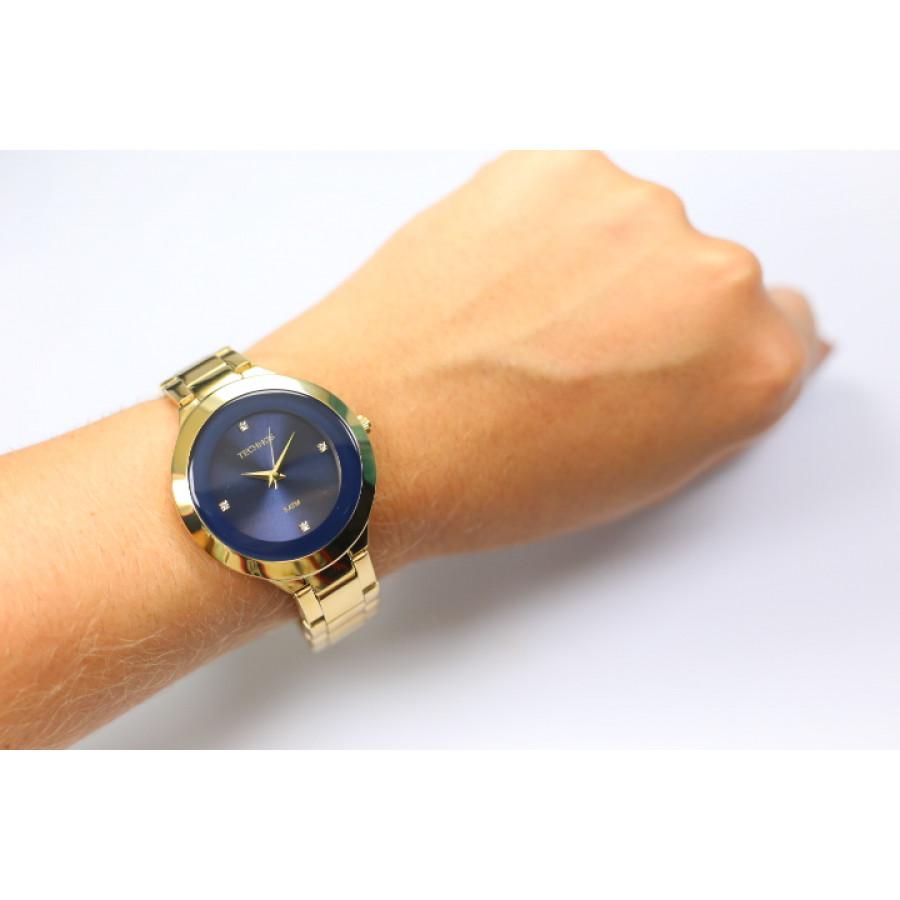 Relógio Technos Dourado Feminino Elegance St. Moritz Analógico 2035IIA 4A f8c39a9d16