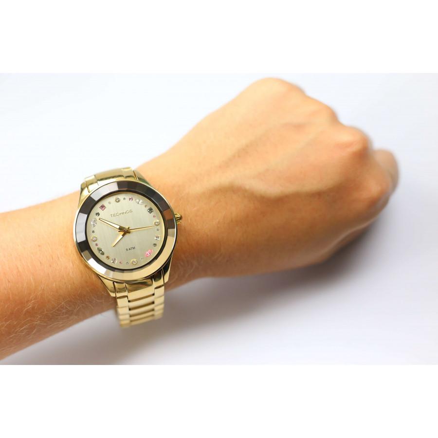 Relógio Technos Feminino Elegance Crystal 2036LMS 4X cd741f4070