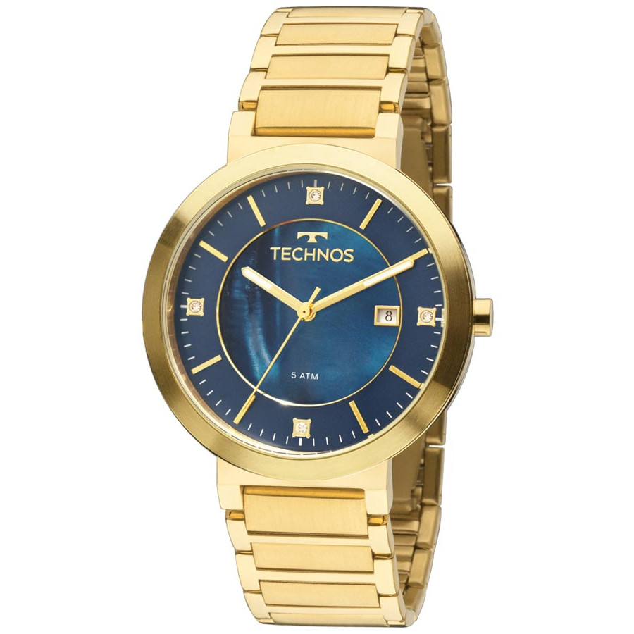 2a079f56269 Relógio Technos Feminino 2035lyw4p Eclock
