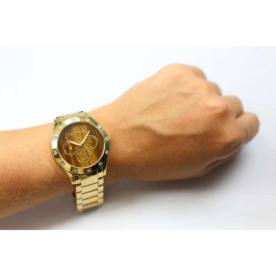 Relógio Technos Elegance Feminino Stone Collection 6P79AN 4M bcaace19ad