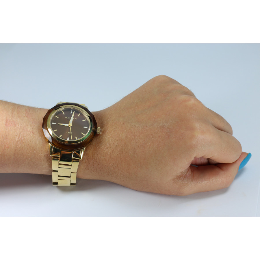 Relógio Technos Feminino Elegance Crystal 2035MCM 4M 01484d5108